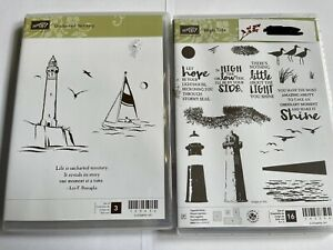 Stampin' Up! Stamp Sets- High Tide, Uncharted Territory