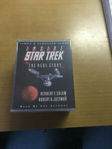 STAR TREK THE REAL STORY - SEALED DOUBLE CASSETTE AUDIO BOOK