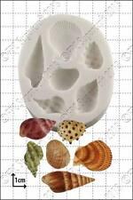 Moule silicone sea shells   usage alimentaire FPC Sugarcraft expédition gratuite R-U!