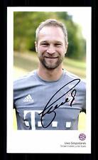 Uwe Gospodarek Autogrammkarte Bayern München 2015-16 Original Signiert+ C 2477