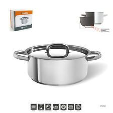 24CM/5LJOMAFE INDUCTION CASSEROLE 18/10 STAINLESS STEEL