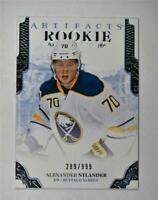 2017-18 17-18 UD Artifacts Base #170 Alexander Nylander /999 RC