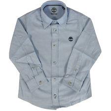Magliette, maglie e camicie blu a manica lunga per bambini dai 2 ai 16 anni 100% Cotone