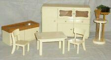 Altes Puppenmöbel Puppenstube Puppenzimmer Küchenschrank Puppenküche Küchenmöbel