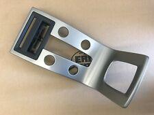 05-13 Volvo S40 V50 C30 C70 Center Console Panel Aluminum 1281841