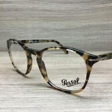 Persol 3007-V 3007 Eyeglasses Brown Beige Tortoise 1056 Authentic 52mm