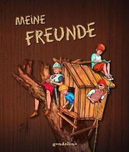 """MEINE FREUNDE """" SCHLAUE KERLE"""" Freundebuch Schule Kinder Poesiealbum NEUWARE"""