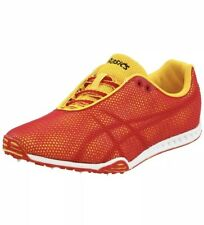 ASICS Mens Size 15 Red Sun Flame Gel Dirt Dog 4 Track Field Shoe Spikes Racing