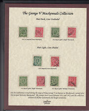 1911-12 ½d & 1d KGV downeys SG322-350 - Fine used + certificate of authenticity