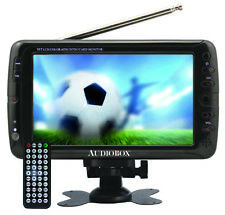 "Portable ATSC TV with 7"" HD Display and USB/SD Card Inputs (MP4/FLV/MP3/JPG)"
