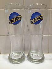Pair of Blue Moon Pint Glasses!!!