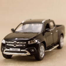 2017 Mercedes Benz X Class Dual Cab Ute Black 1:42 12.5cm Die-Cast Pull-Back