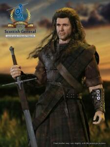 """Pangaea Toy PG05 1/6 Scottish General  William Wallace Soldier 12"""" Figure Body"""