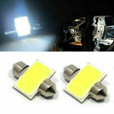 New 10pcs T10 6W White 31mm 12smd COB LED Bulbs For Car Interior Dome Map Lights