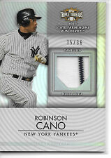 2012 Topps Triple Threads Robinson Cano Game Used Raw 35/36 New York Yankees
