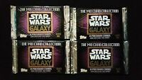 1993 Topps Star Wars Galaxy Series 1 Trading Card 4 Pack Lot