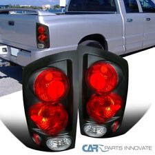 For 02-06 Dodge Ram 1500 03-06 2500 3500 Pickup Black 3D Tail Lights Brake Lamps