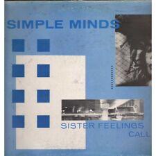 Simple Minds Lp Vinile Sister Feelings Call /  Virgin OVED 2 Nuovo