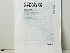 Casio CTK 2400 Owner Manuel Instruction Booklet