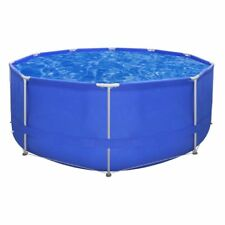 vidaXL Above-ground Swimming Pool Steel Frame Round 12'x4' Outdoor Garden
