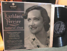Kathleen Ferrier Memorial Album Schubert Schumann Gluck Spurr Piano London 5258!