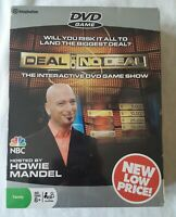 DEAL or NO DEAL Interactive PC DVD as seen on TV Party Game NEW Factory Sealed