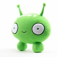 "10"" Final Space Mooncake Plush Plush Figure Pillow Toy Soft Stuffed Doll Gift"