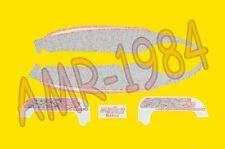 SERIE ADESIVI DECALCO CODONE APRILIA RS 50 1999 BLU FUMI-ROSSO  AP8257405