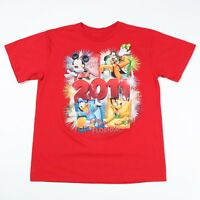 Official Disney Mickey Mouse T-Shirt | Men's L | Top Retro Vintage Duck Goofy