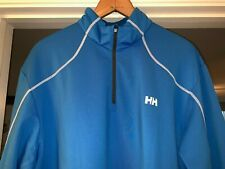 Helly Hansen Partial Zip, Pullover, Blue, Mens, Size 2Xl (Fits like Xl)