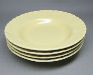 Franciscan Coronado four bowls in a satin yellow (9683)