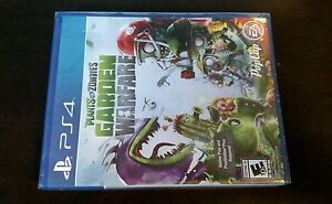 Plants vs. Zombies: Garden Warfare  (Sony PlayStation 4, 2014) - NEW/SEALED