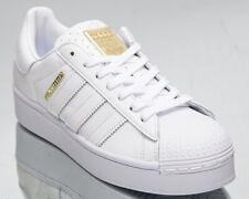 Adidas Originals Superstar Bold de Mujer Oro Blanco Bajo Lifestyle Zapatillas