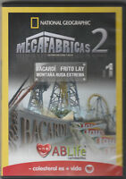 *National Geographic: Megafabricas 2 Vol. 1 (DVD) AB Life Promotion