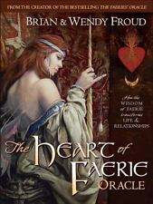 The Heart of Faerie Oracle (Book & Cards), Froud, Wendy, Good Book