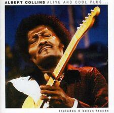 Albert Collins - Alive & Cool Plus [New CD] Bonus Tracks