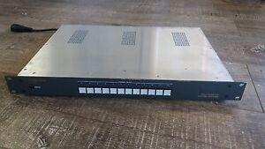 Videotek RS-12HD HD Routing Switcher