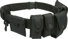 Accessoires noirs en nylon pour homme