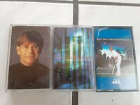 Lot of 3 Elton John Cassette Tapes Greatest Hits 2 & 3 and Made In England