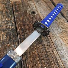 "40"" Blue Dragon SAMURAI NINJA Bushido Katana Japanese Sword Carbon Steel Blade-F"