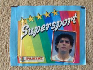 Unopened Panini Supersport 1987 Sticker pack. Is Mike Tyson inside???