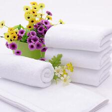 Baby Kids White 100% Cotton Soft Washcloth Bath Feeding Wipe Towel Sleep Blanket