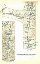 Original 1776-77 Revolutionary War Maps The Hudson & Arnold's Naval Engagement