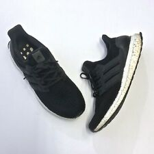 adidas UltraBoost 4.0 Black White Mens Size 9 Running Shoes Casual BB6166 Used