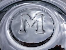 MORRIS MINOR SERIES MM 1948-1952 BRAND NEW HUB CAPS (M LOGO) X 4 (FREE UK POST)