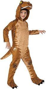 T. Rex Jurassic World Tyrannosaurus Dinosaur Fancy Dress Halloween Child Costume