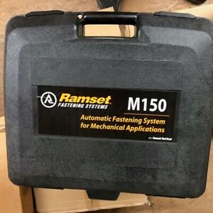 M150 Ramset Gun with Case, Charger, Battery