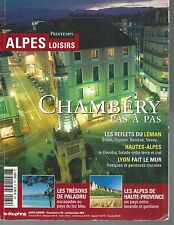 ALPES LOISIRS n° 39.CHAMBERY, PALADRU, LEMAN, HTES ALPES...   Z13E