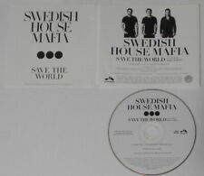 Swedish House Mafia - Save the World extended - original 2011 U.S. promo cd