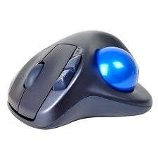Logitech M570 Wireless Laser Trackball Mouse 910-001799 with USB Receiver